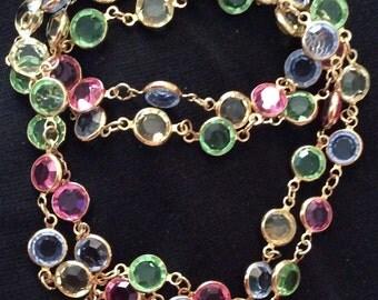 Swarovski Pastel Crystal Necklace