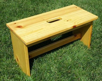 Bench Step Stool