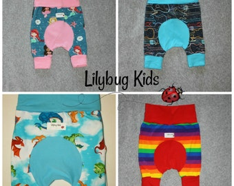 Custom Shortiloones, Maxaloone shorts, grow with me, choose size and fabric, Shortaloones, made to order, cloth diaper shorts, summer