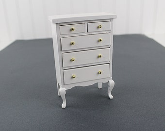 Dollhouse HiBoy Dresser Tall Dresser Chest of Drawers