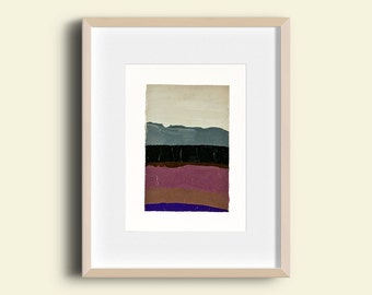 Abstract Landscape - Oil Painting 7997