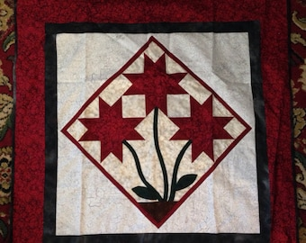 Large flower wall hanging
