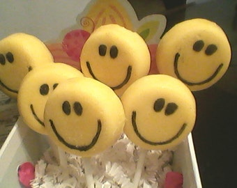 Smiley Candy Pops