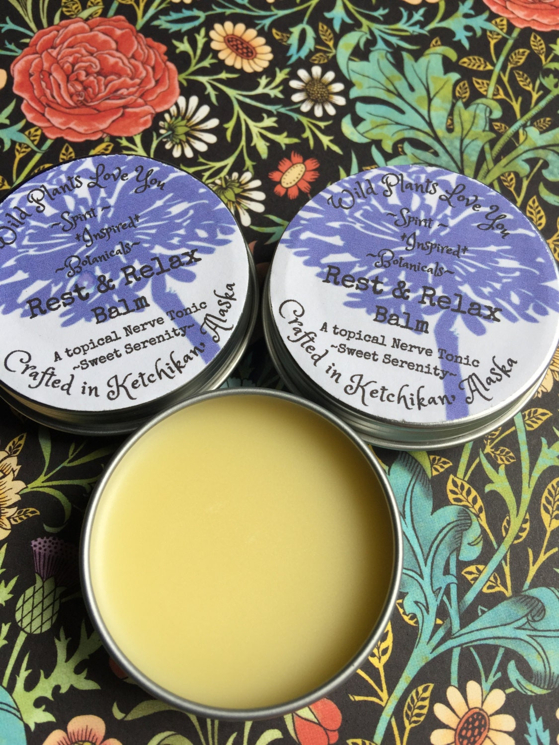 Rest & Relax Balm a topical nerve tonic
