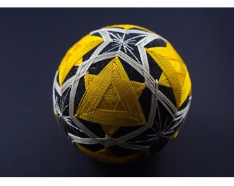 Card folded - Item 6 - woven ball