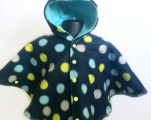 Car Seat Poncho - Infant Car Seat Poncho - Toddler Car Seat Poncho - Baby Shower Gift - Hooded Fleece Poncho - Fleece Poncho - Hooded Poncho