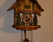 Musical Chimmeny Sweep 1980's Cuckoo clock
