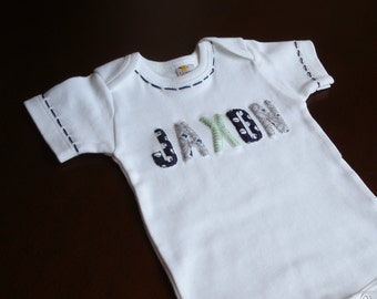 Baby Gift, First Name Baby Bodysuit, Personalized  Baby Clothes, First Name, Cute Baby Clothes, Personalized Baby Gift, Personalised Item