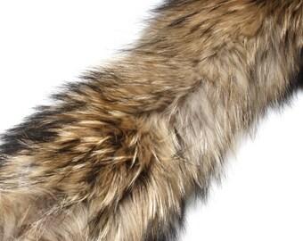 "4"" Raccoon Fur Trim"