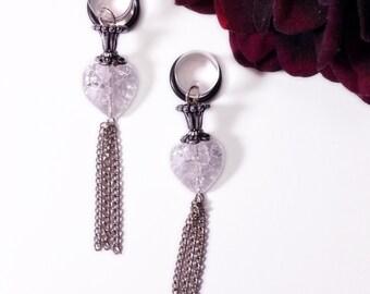 pendant for plug or normal earrings
