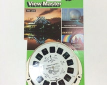 "View-Master 3 Reel Set EPCOT Center 3D: ""Future World No. 2"" 3-pk Reels 1980s Toy"