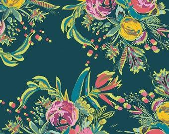 Art Gallery Joie De Vivre Croquet Bouquet (Half metre)