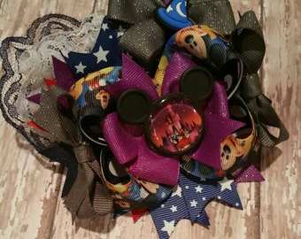 Mickey Mouse Fantasia Hairbow
