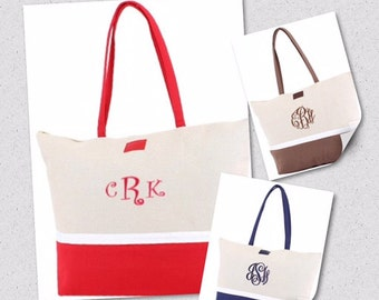 Large Canvas Tote/Beach Bags
