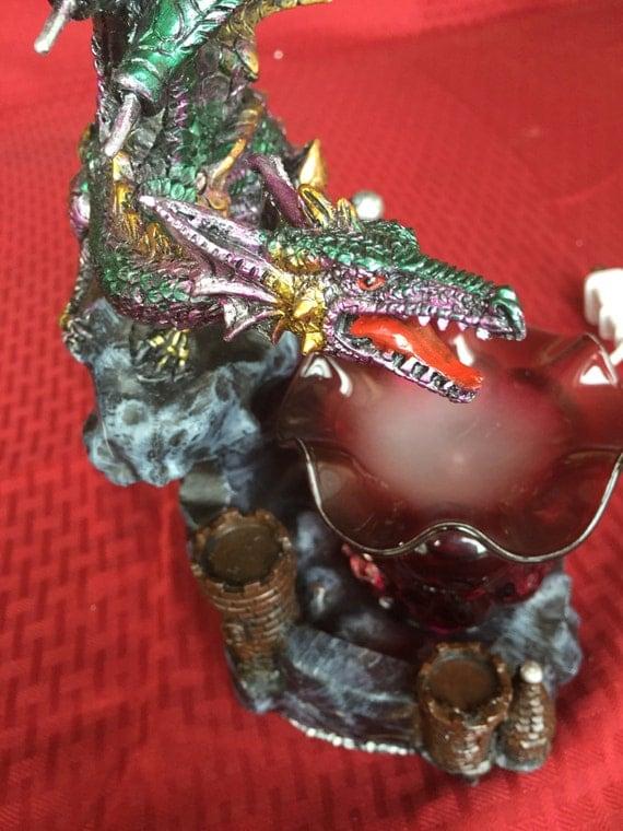 Dragon fragrance lamp dragon oil burner oil warmer oil - Dragon oil warmer ...