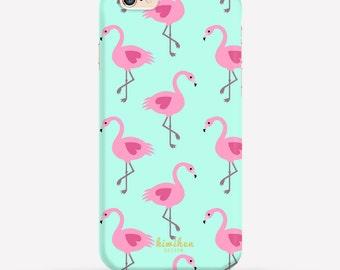 Flamingo iPhone Case, iPhone 6 Case, iPhone 6 Plus Case, iPhone 7 Case, iPhone 5c case, 2 in 1 Case, Samsung Case, Galaxy S6 Case