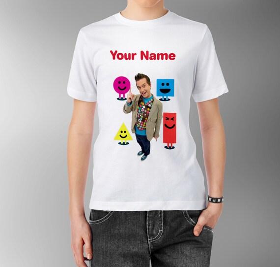 Mr maker personalised kids tee t shirt t shirt for Random t shirt generator