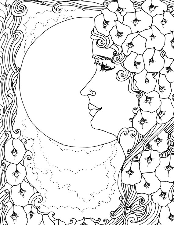 earth flower coloring pages   Believemother earth adult coloring page adult coloring