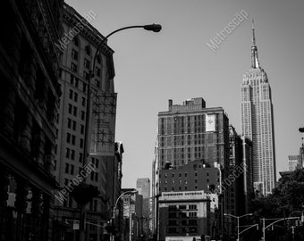 Black and White, New York City Photography, Madison Square Park, Fine Art Photography, NYC Pictures, Flatiron Disrict