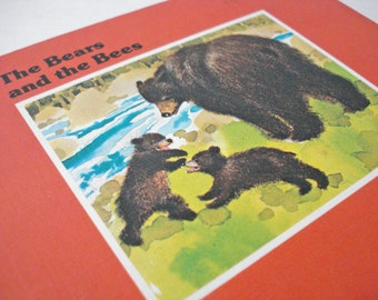 The Bears And The Bees Little Woodland Childrens Book By Bill Martins Vintage 70s