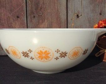 Pyrex Town And Country Cinderella Bowl #444~4 Quart Nesting/Mixing Bowl