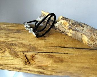 Wrap Bracelet - Satin Cord Bracelet - Multi Wrap Bracelet (BD-708)