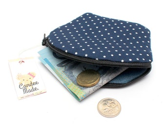 Splendid Spotty Round Zipper Coin Purse