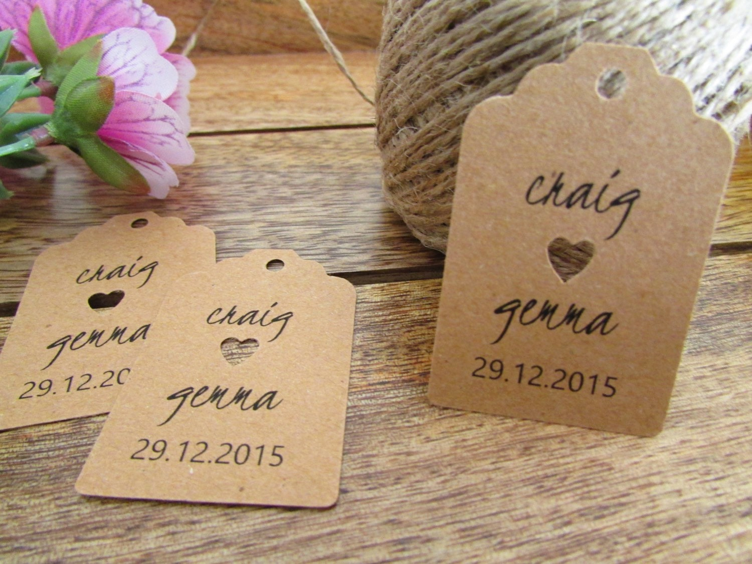 Wedding Favor Tags Personalized Favor Tags Shower Gift