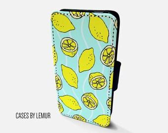 LEMON Iphone 5 Wallet Case Leather Iphone 5 Case Leather Iphone 5 Flip Case Iphone 5 Leather Wallet Case Iphone 5 Leather Sleeve Cover Phone