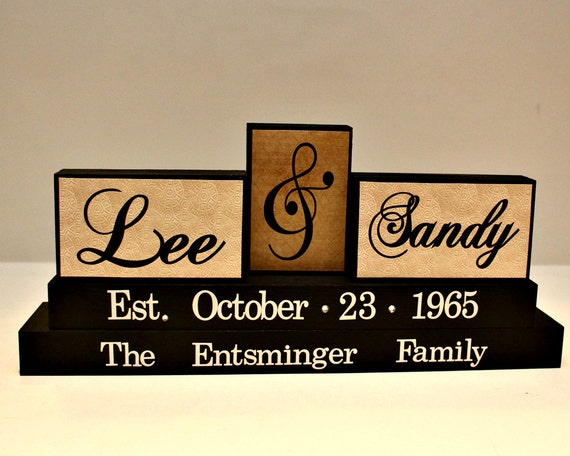 Wedding Gifts For Parents Canada : ... ParentsPersonalized Family Name Wood SignWedding Gifts Canada