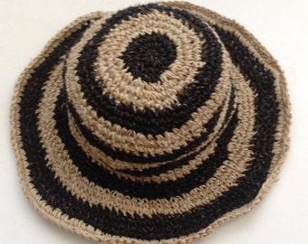 Eco Friendly Pure Hemp and Cotton Sun Hat
