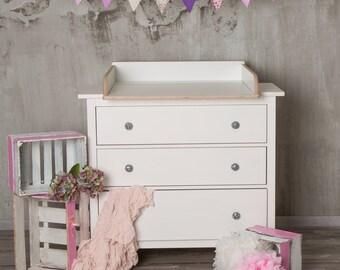naturholz wickelaufsatz wickeltischaufsatz f r ikea von puckdaddy88. Black Bedroom Furniture Sets. Home Design Ideas