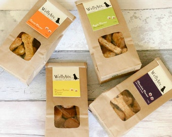 Wellybix Selection Pack (choose 4 Flavours), Freshly Baked to Order.