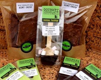 Mint Flavoured Belgian Chocolate Goodies