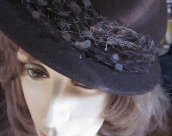 Vintage Levy's of Memphis Wool Felt Hat
