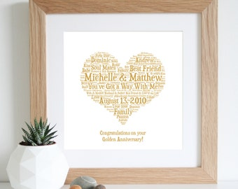 Golden Wedding Anniversary Gift Ideas For Parents Uk : ... golden wedding anniversary 50th wedding anniversary gifts for parents