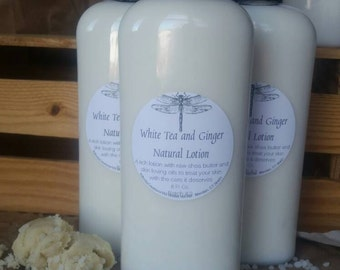 White Tea and Ginger Body Lotion