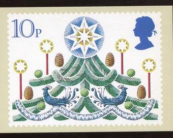 A Christmas Tree Christmas PHQ Stamp Series Postcard C196