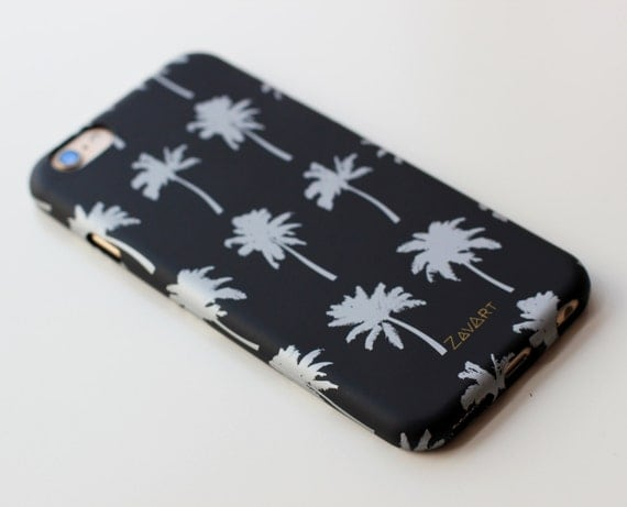 PALMS Rubber phone case, Iphone 6 phone case, Iphone 6S phone case, soft rubber phone case, tropical phone case, palms phone case, funda mov