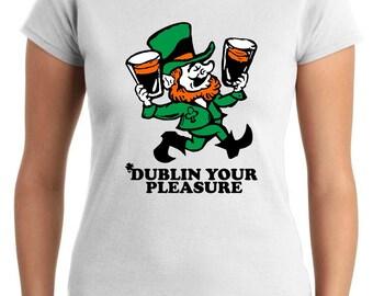 T-shirt T0831 dublin your pleasure holiday