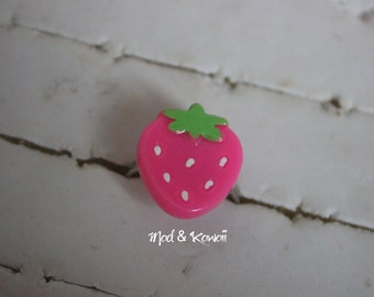 ring small Strawberry pink
