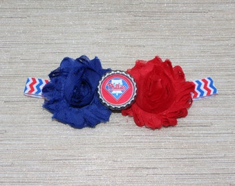 Philadelphia Phillies baby headband! Phillies Baseball Baby!  Phillies girl!