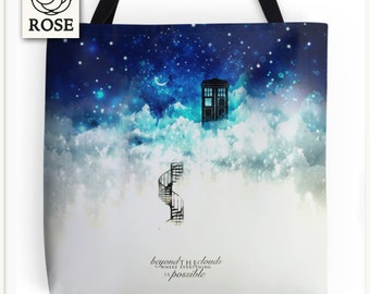 Tote Bag - Doctor Who | Beyond the clouds