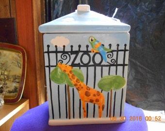 Zoo Cookie Jar