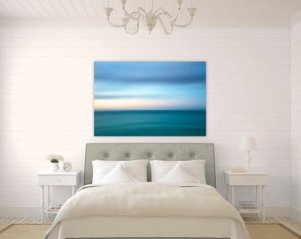 Caribbean Abstract ~  Turks and Caicos, Canvas Gallery Wrap, Turquoise, Aqua, Vibrant, Abstract, Wall Art, Coastal Decor, Caribbean, Art