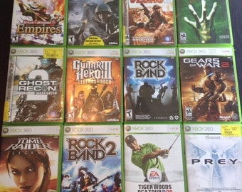 Huge Xbox 360 Popular Games Lot-- Different Games/Fully Working!