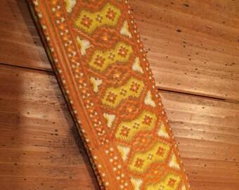 Vintage Handmade Silk Clutch