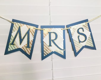 Mr and Mrs Banner Wedding Banner Custom Wedding Banner Mrs and Mrs Banner Mr and Mr Banner Wedding Decoration Wedding Shower Decor