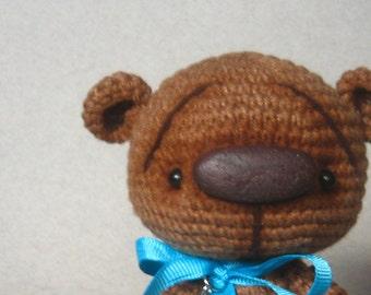 Brown Crochet Teddy Bear