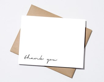 Thank You - Simple Cursive